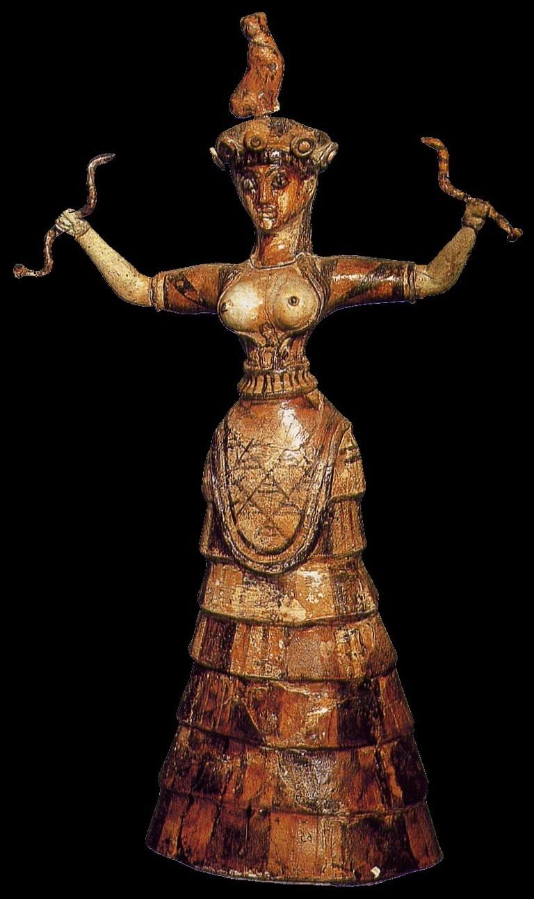 Resultado de imagen de diosas minoicas